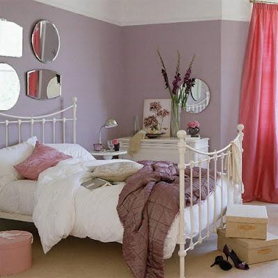 decoración romántica dormitorio