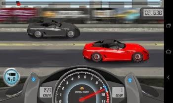 Drag racing Game Play