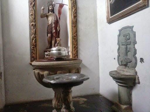 Pia batismal da Matriz de Nossa Senhora do Pilar de  São João del Rei