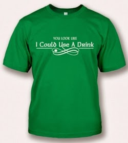 Irish Drinking Shirt from FunnyIrishTshirts.com Review