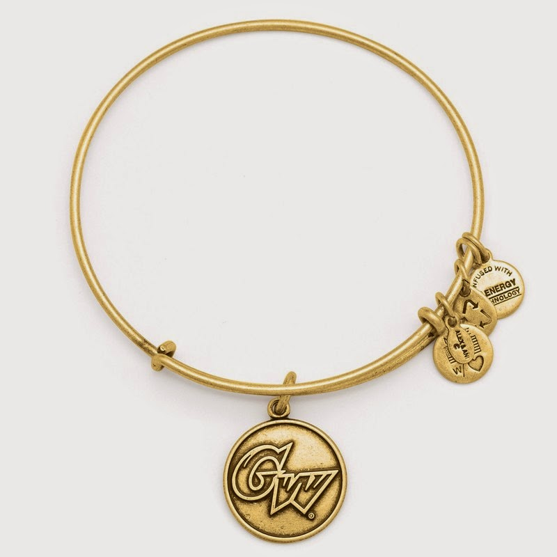 George Washington University NCAA Charm Bangle