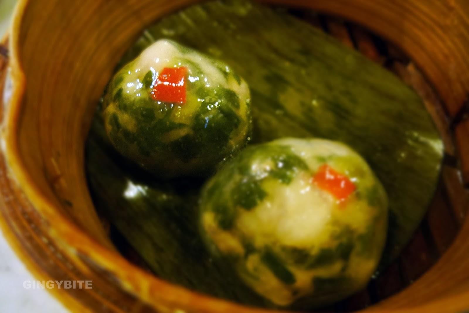 crystal chives dumpling