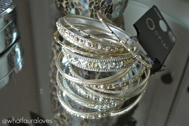 Primark Gold and Silver Bangles