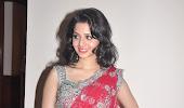 Actress vedika red saree below show photos