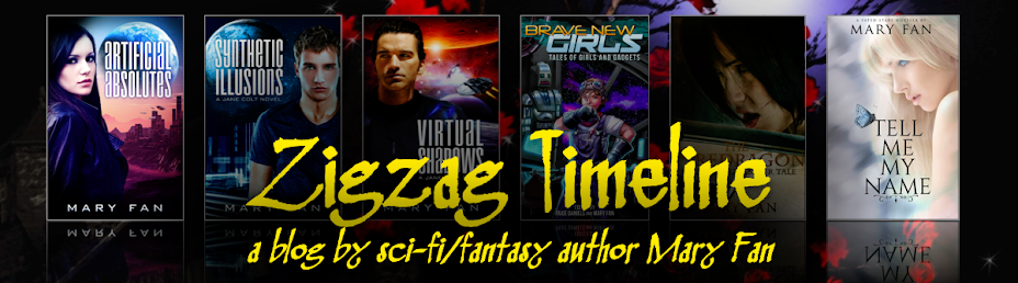 Zigzag Timeline