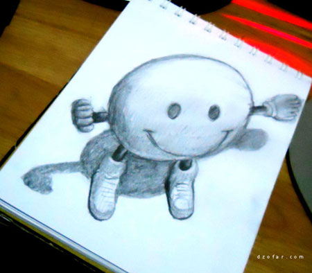 Smiley 3D illution by ndop™
