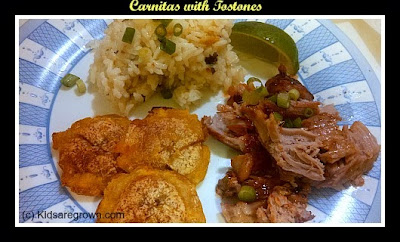Carnitas & Tostones
