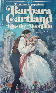 Kiss The Moonlight by Barbara Cartland