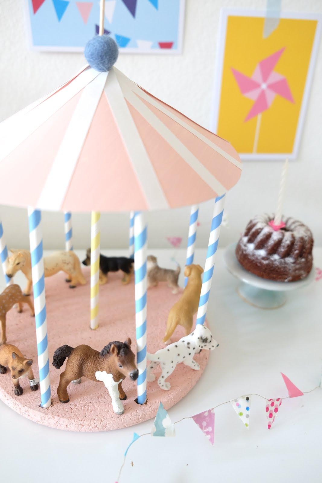 Geburtstags-Karussell
