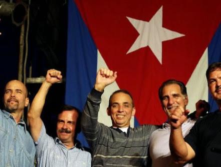 Los Cinco, un ejemplo más de valentía y lucha del pueblo cubano contra el imperialismo