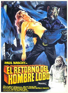 Night of hte Werewolf / El retorno del Hombre-Lobo 1981