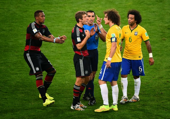 Highlight Brazil vs Jerman
