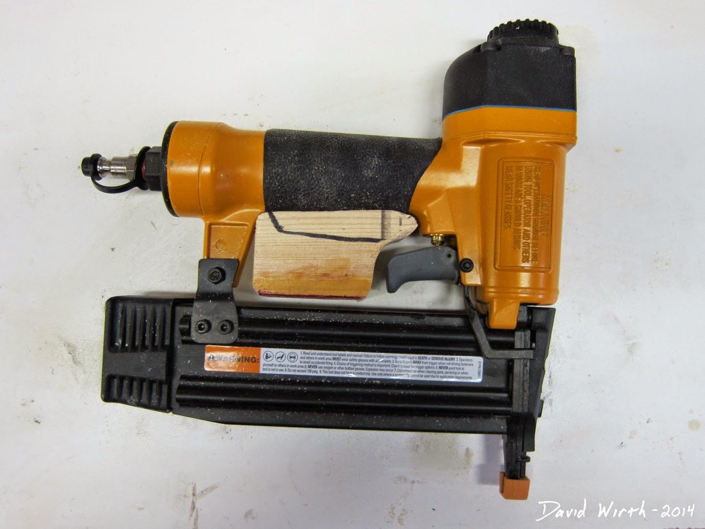 test fit nail gun handle