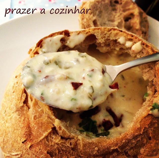 prazer a cozinhar - clam chowder
