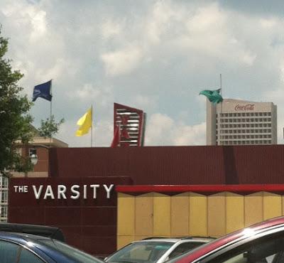 Varsity and Coca Cola Building Atlanta
