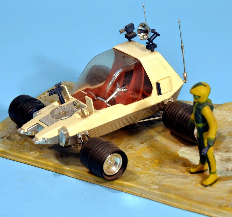 Moon Rover Model Car - Pics about space