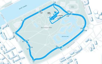 London (United Kingdom) ePrix Circuit