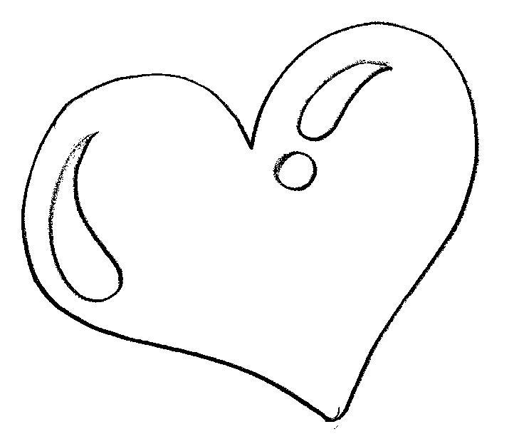 desenho de coração para imprimir e colorir desenhos para imprimir