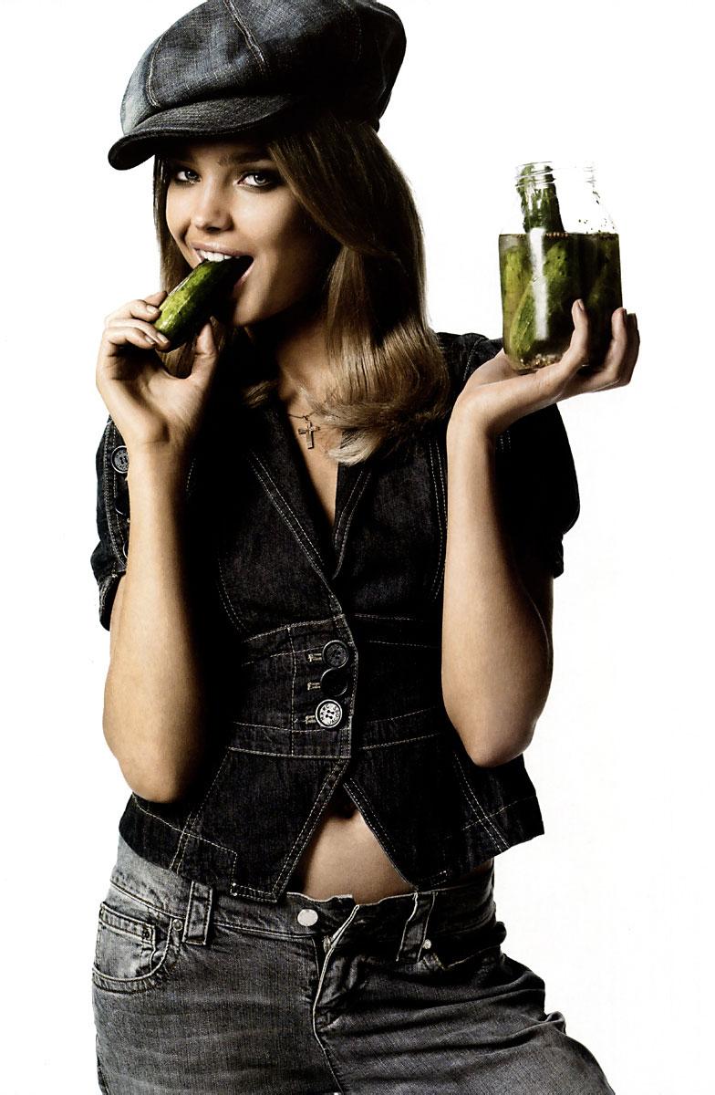 Natalia Vodianova in Vogue Italia May 2005 (photography: Steven Meisel)