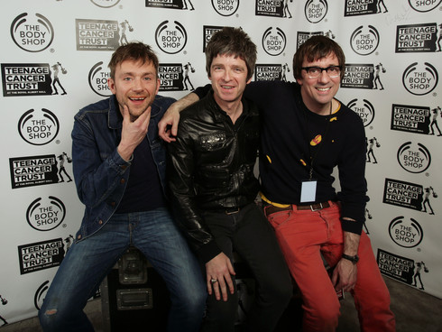 damon albarn noel gallagher, blur oasis war, blur oasis, graham coxon oasis, graham coxon gallagher, blur gallagher