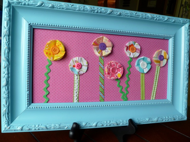 Pocket Full of Pink: Spring Flower Wall Art- My Take