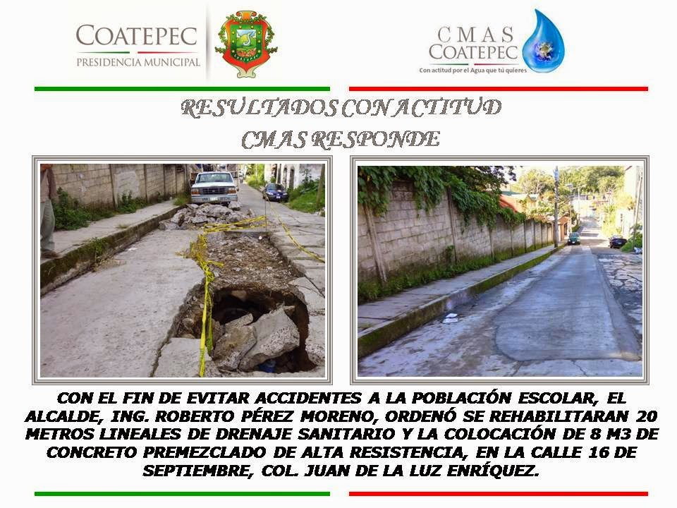 CMAS COATEPEC, ATENTA A RESPONDER A LA CIUDADANÍA