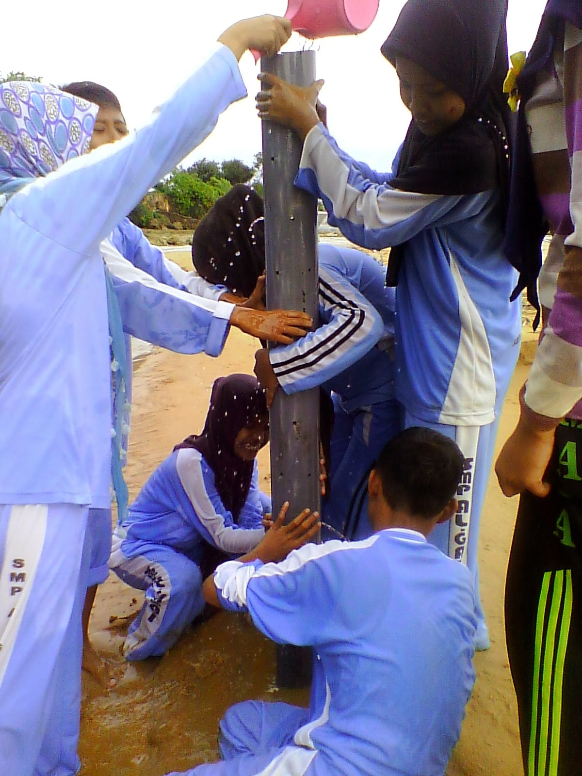 Outbond SMP Al-Ghazali 2013