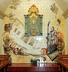 Maravilhoso Sacrário do século XVIII