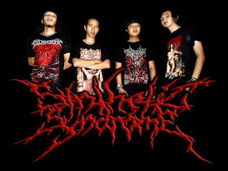 Synthetic Syndrome Band Death Metal Singkawang Foto Logo Wallpaper
