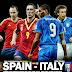 مواجهة حارقة بين المنتخبان الاسباني و الايطالي في كأس القارات 2013