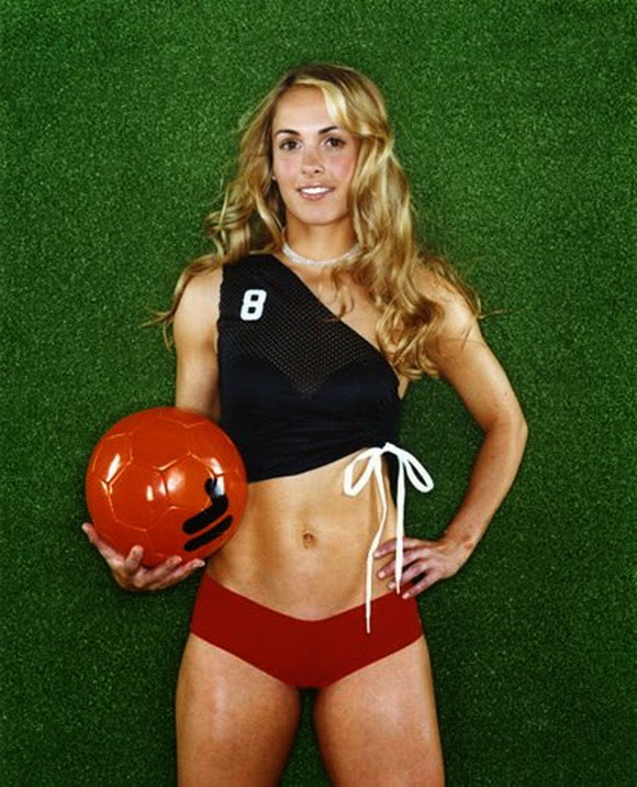Heather Mitts - hottest American athlete ranked 10th