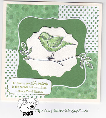 Language of Friendship' Rubber stamp set by Stampin'Up