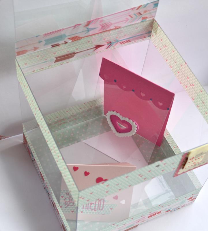 Acrylic Box Tutorial : Clear scraps acrylic valentine s box