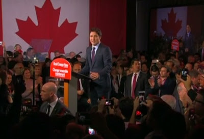 Justin Trudeau, leader or Liberal Party