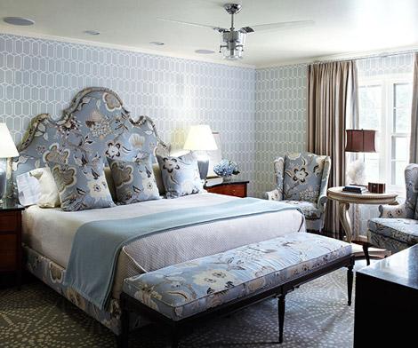... con molti spunti per decorare la camera con delle tende per il letto