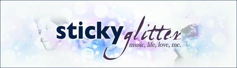 Sticky Glitter