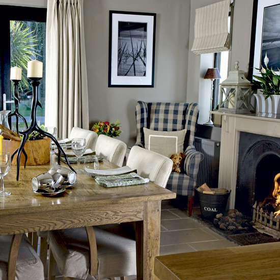 Modern country style modern country cottage tour for New dining room looks