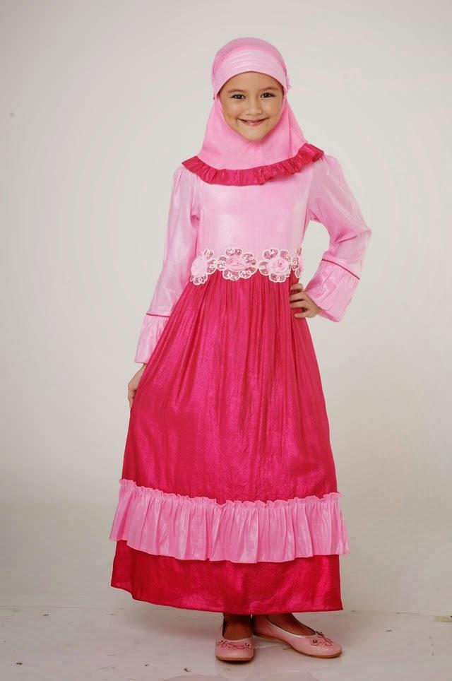 pakaian muslim anak terkini