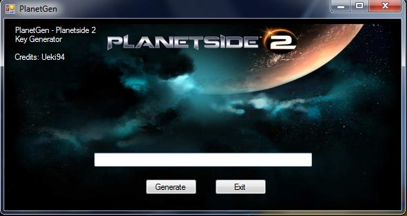 Planetside 2 Keygen