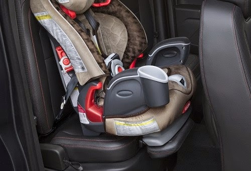 New 2015 Chevy Colorado Child Safety Seat Feature