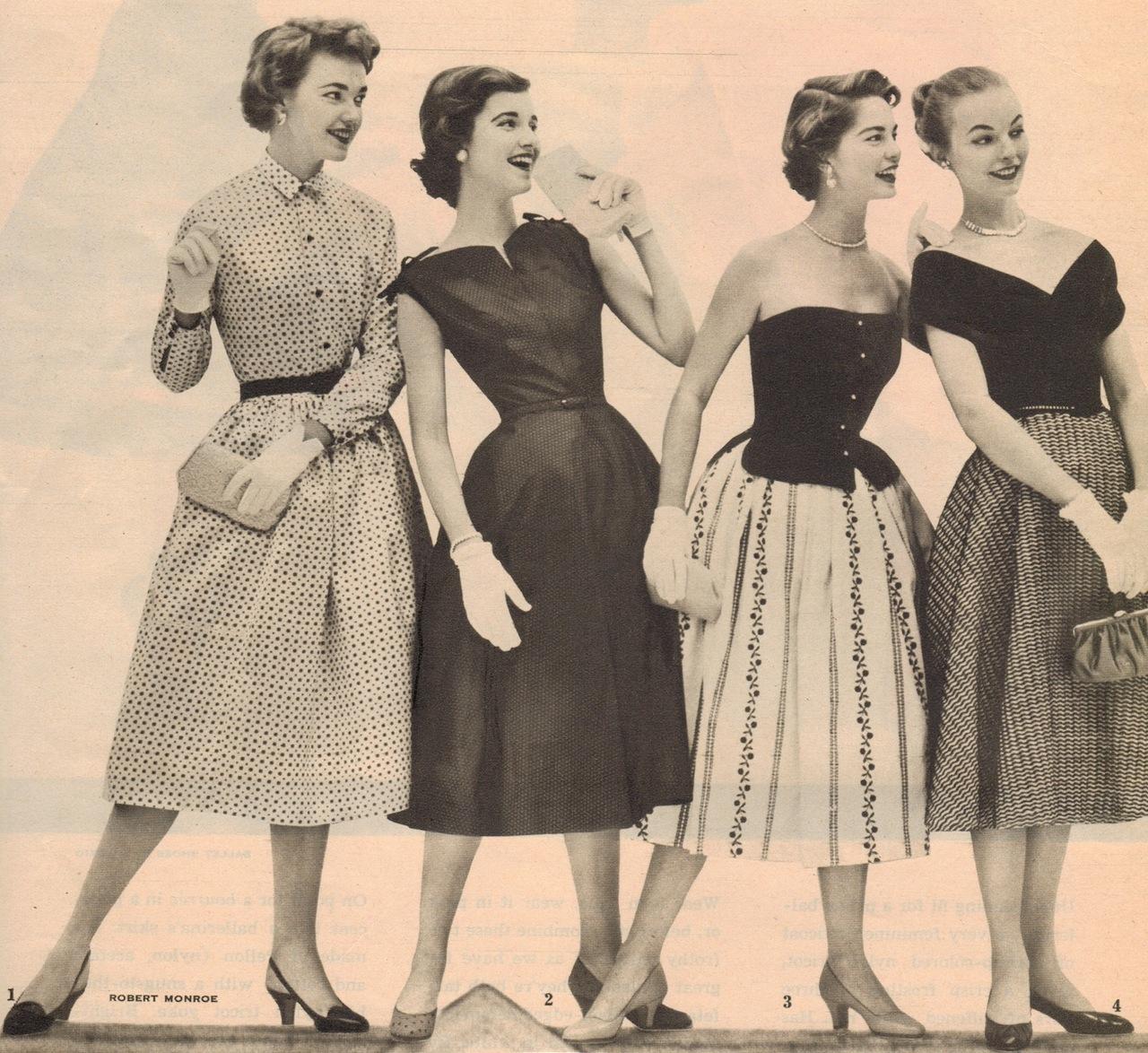 Ретро 50 годов женщины 5 фотография