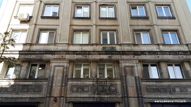 Warszawa Śródmieście modernizm kamienice