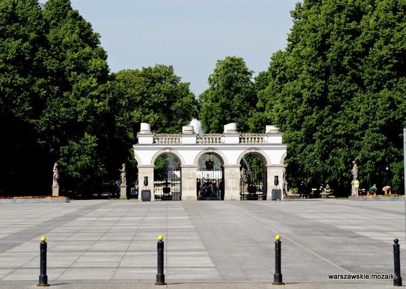 warta honorowa Plac Piłsudskiego Warszawa Ogród Saski