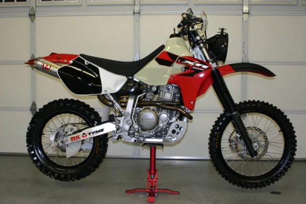 bikes auto media: honda xr650r