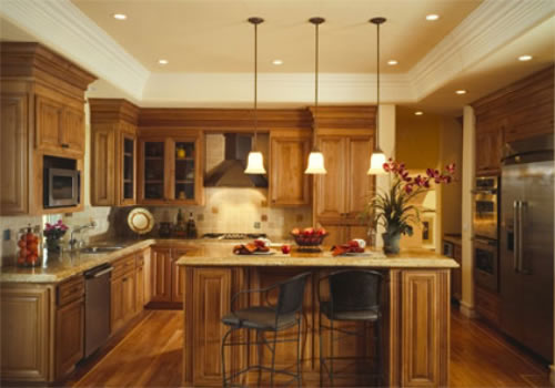 Modern Lighting Kitchen | Back 2 Home
