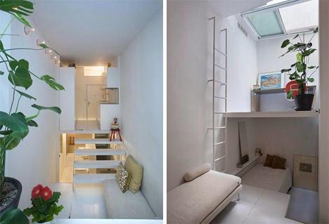 Desain Interior Apartemen Kecil Dan Sederhana Untuk Satu Orang 1