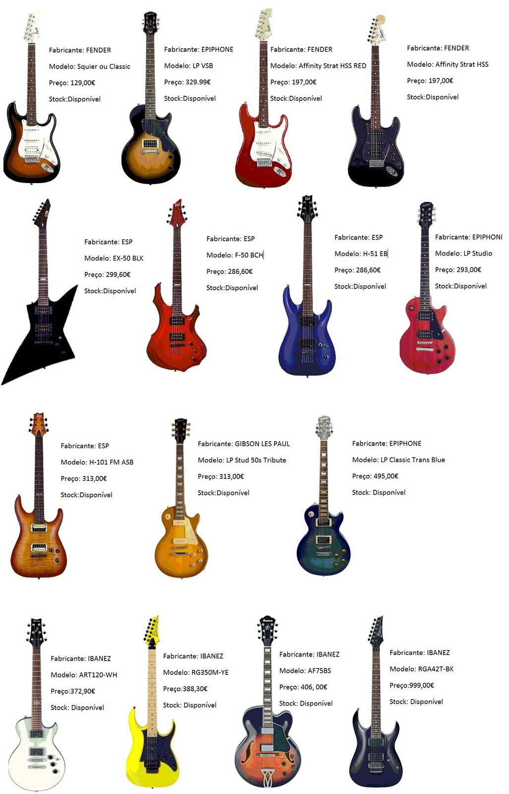 Powerchords artigos for Guitarras electricas baratas