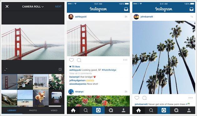 Instagram Kini Bisa Landscape dan Potrait