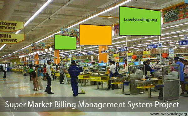 Super Market Billing Project In Java C C Php
