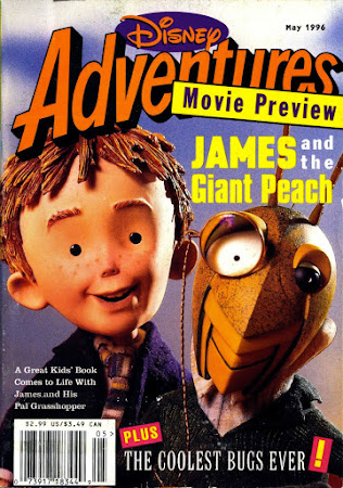 Poster Of James And The Giant Peach 1996 In Hindi Bluray 720P Free Download